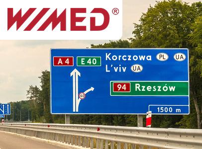 Oznakowanie drogowe Wimed