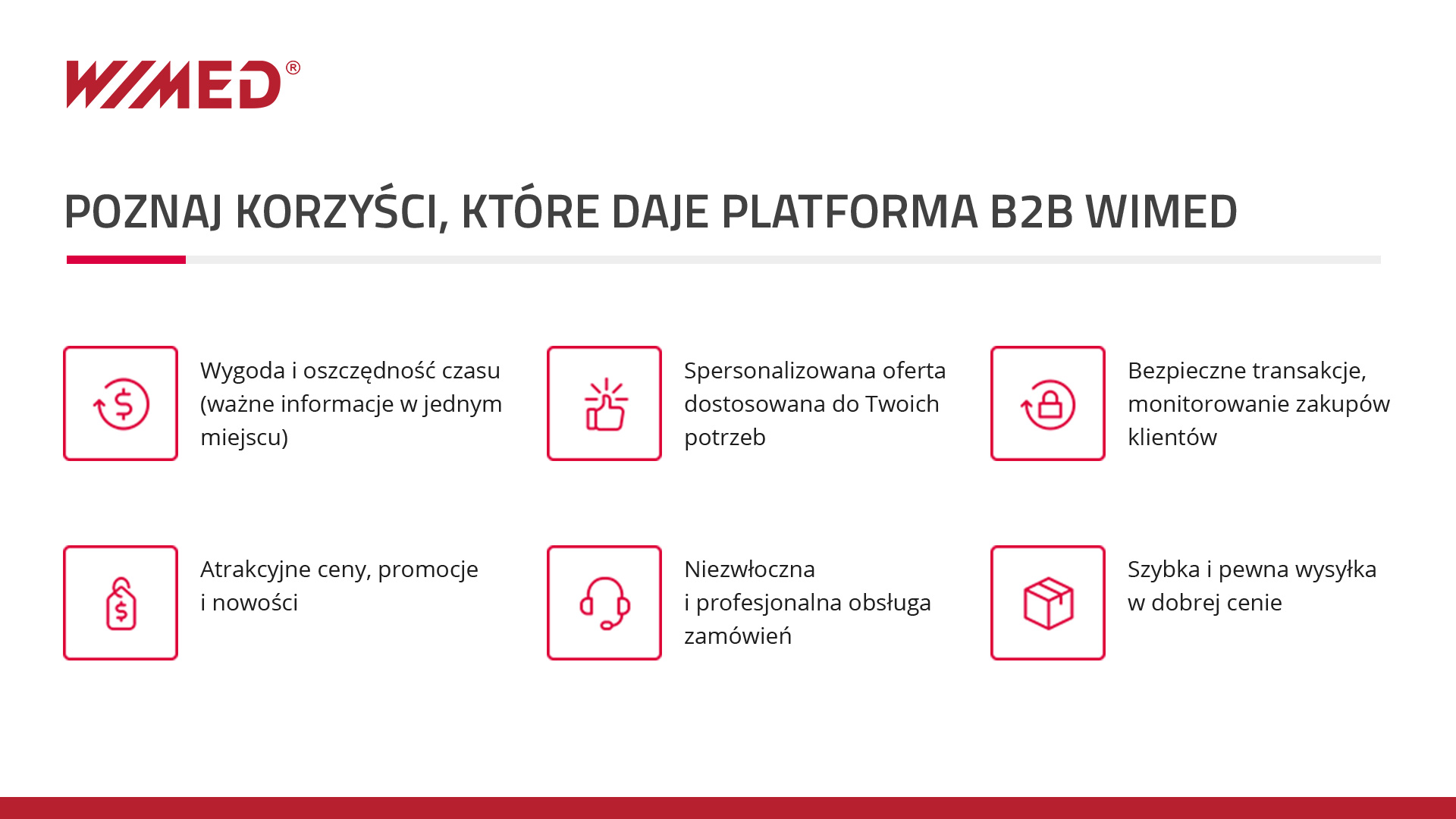 Korzyści platformy B2B