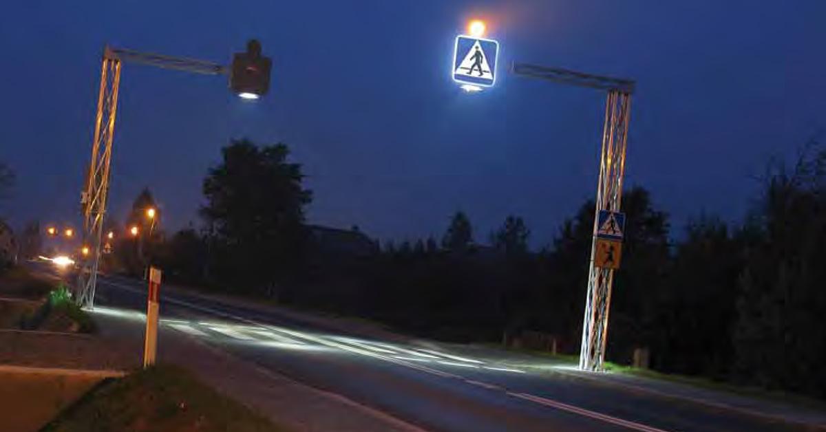 Aktywne oznakowanie drogowe Wimed
