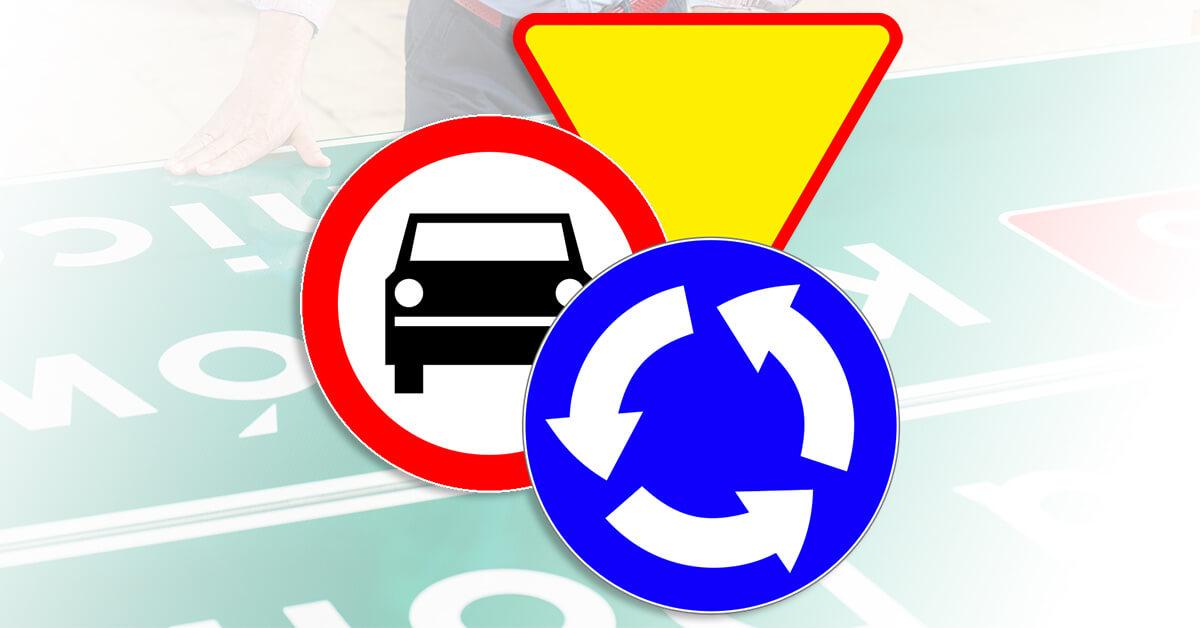 Oznakowanie drogowe pionowe